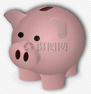猪, 储蓄盒,图片