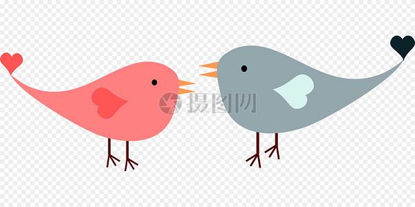 两只爱情鸟图片