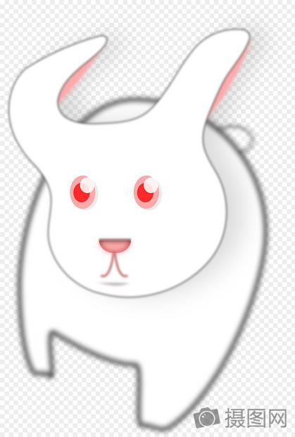 标签: 长耳朵雪白红眼睛可爱卡通兔子红眼睛的兔子图片红眼睛的兔子