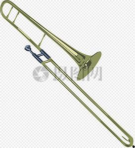 管弦乐器长号图片