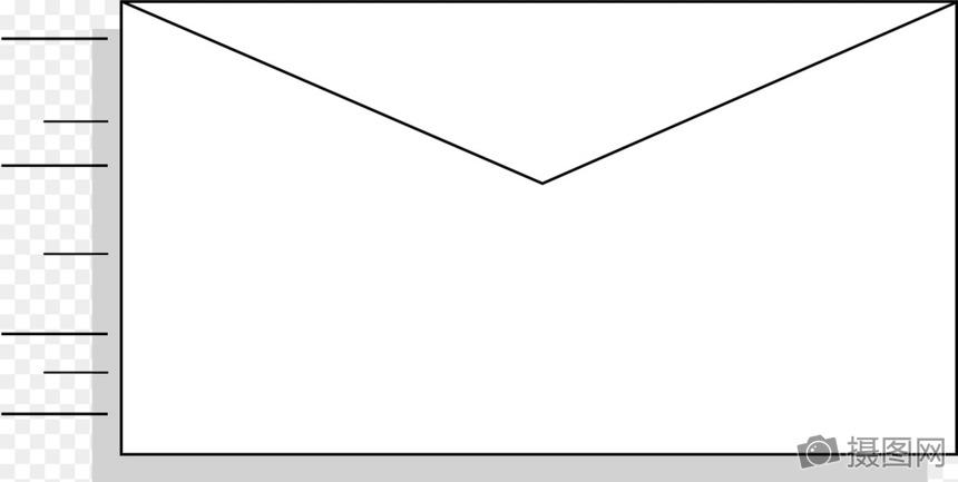 小树叶信封折纸步骤图