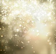 梦幻多彩金色蓝色黑色白色雪花炫光光效背景图片