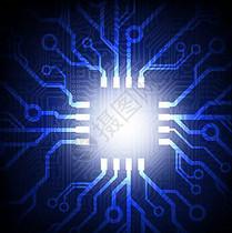 蓝色 电路 科技 背景 设计 纹理图片