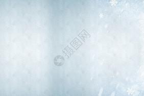 白色质感雪花背景图片