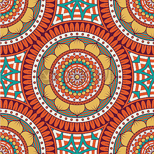 波西米亚风格的背景矢量素材高清图片