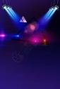 蓝色灯光舞台效果背景图片