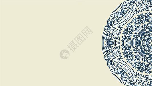 传统纹样图案矢量素材图片