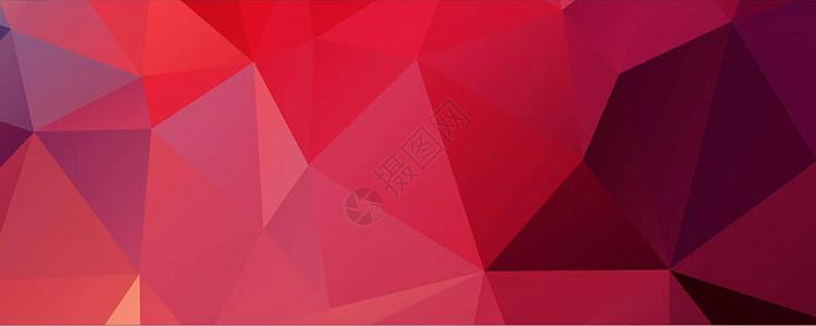 璀璨红色商务时尚背景矢量图素材图片