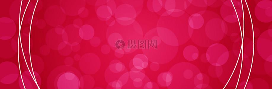 粉红浪漫广告banner背景素材图片