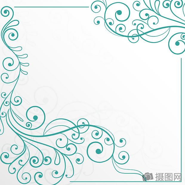 国外炫彩几何科技唯美欧式花边背景素材摄影图片照片