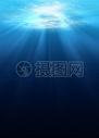 海底蓝色背景图片