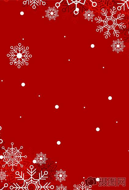 红色圣诞节新年春节喜庆矢量背景下载