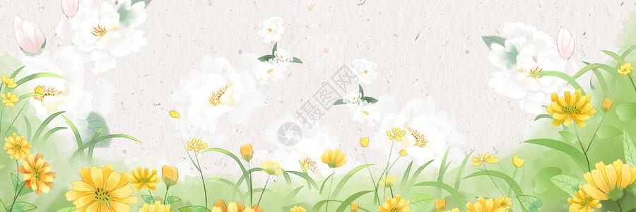 淘宝海报Banner唯美背景图片