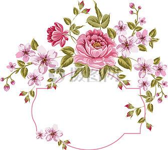 花卉小清新背景图片