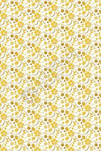 金色装饰墙纸图案矢量素材图片