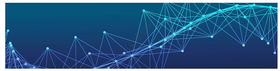 科技几何背景图片