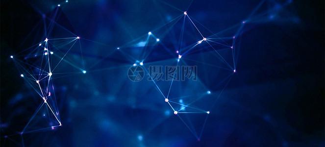 科技蓝色纹理背景图片