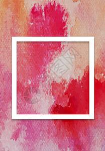 橙色蓝色质感背景图片