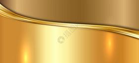 矢量金色纹理金属拉丝黄金背景图片
