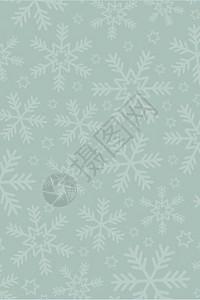 国外卡通节日圣诞节新年雪花姜饼背景图片