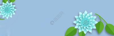 立体花卉海报背景图片