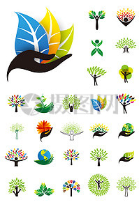 多款环保矢量图标素材图片
