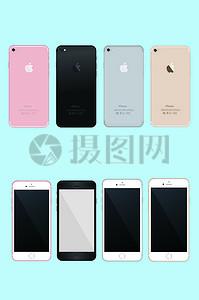 苹果7素材模板图片