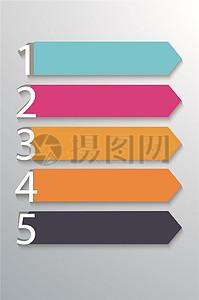 时尚简洁企业信息文化墙素材图片