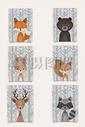 卡通手绘动物形象图片