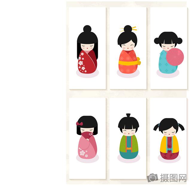 唯美图片 可爱日本娃娃设计ai  分享: qq好友 微信朋友圈 qq空间 新浪