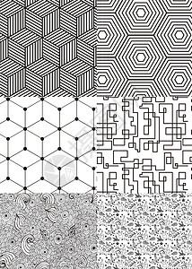 手绘几何素材图片