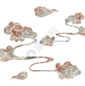 中国风祥云图案素材图片