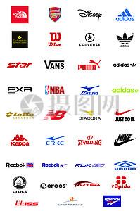 各类运动品牌标志图片