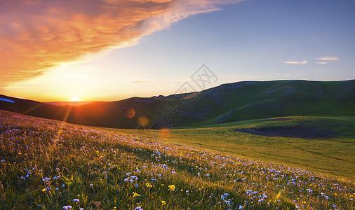 日落 夕阳 晚霞图片