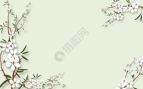 兰花素材背景墙图片图片