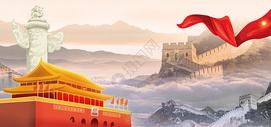 精美建党节宣传海报图片