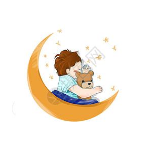 熟睡的宝贝图片