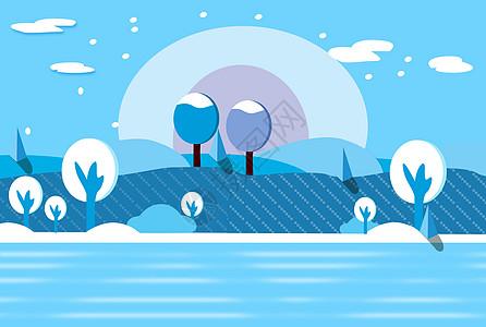 雪后的景色图片