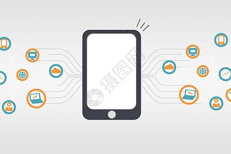 手机与APP图标图片
