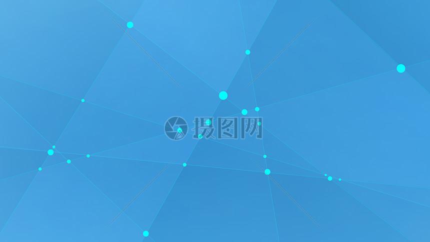 蓝色科技线条元素背景素材