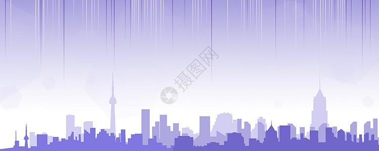 城市矢量背景素材图片