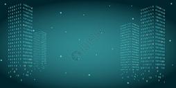 矢量数字建筑科技背景图图片