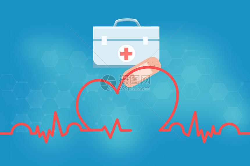 医疗科技图标图片