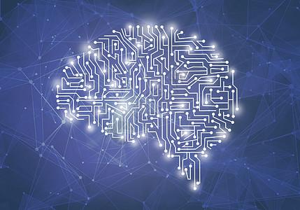 大脑与科技图片