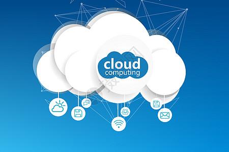科技云服务图片