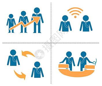 商务图像绘画插图图片