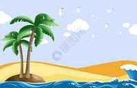 夏日海风图片