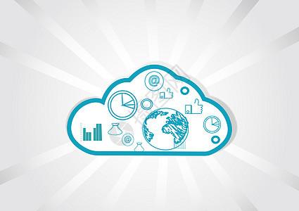 云存储云计算素材图片