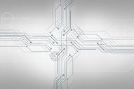 电路科技线条图片