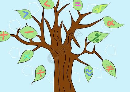 学习树图片